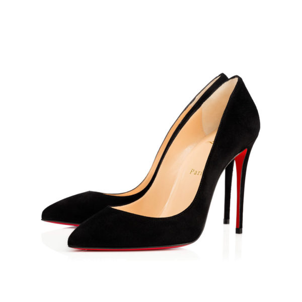 Christian Louboutin Pigalle Follies Veau Velours Black