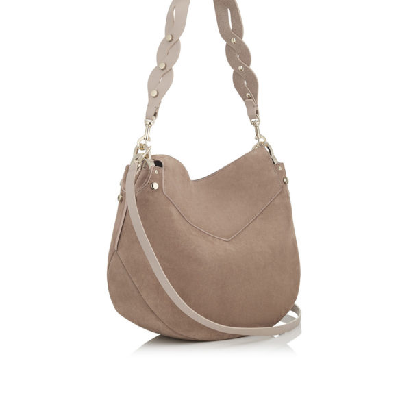 Jimmy Choo Artie Light Mocha Suede