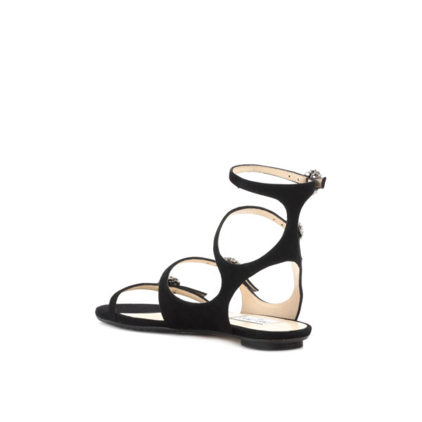 Jimmy Choo Naia Flat black