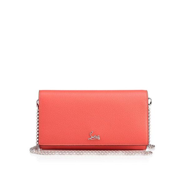 Christian Louboutin Boudoir Chain Wallet - Charlotte pink