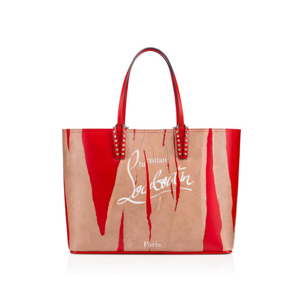 Christian Louboutin Cabata Tote Bag kraft red