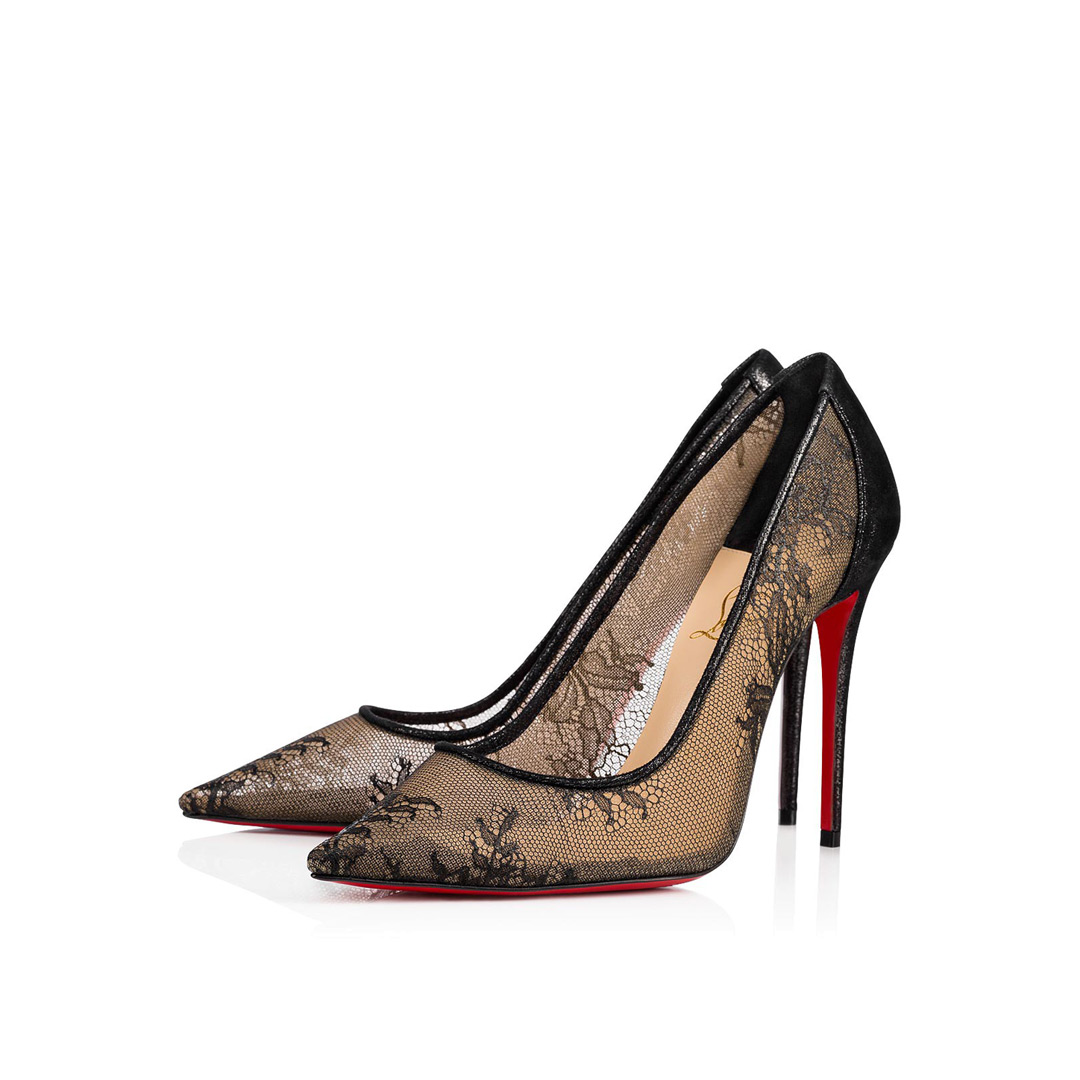 Christian Louboutin ⋄ Lace 554 ⋄ Kymyka luxury shoes and bags 3569d0fa881b