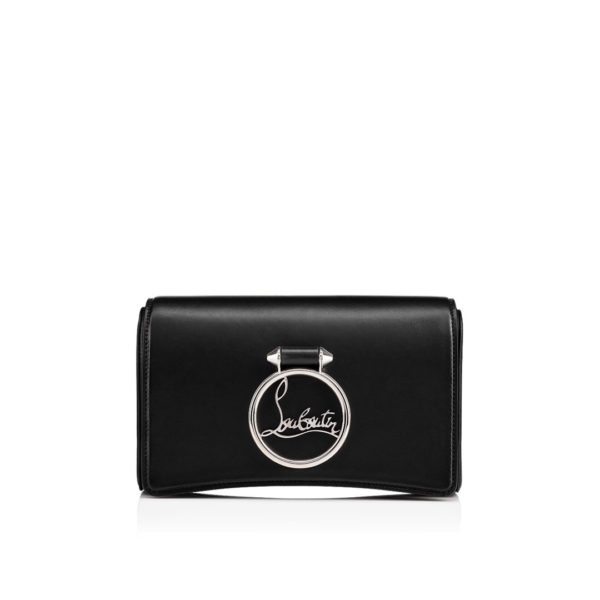Christian Louboutin Rubylou Clutch black classic leather