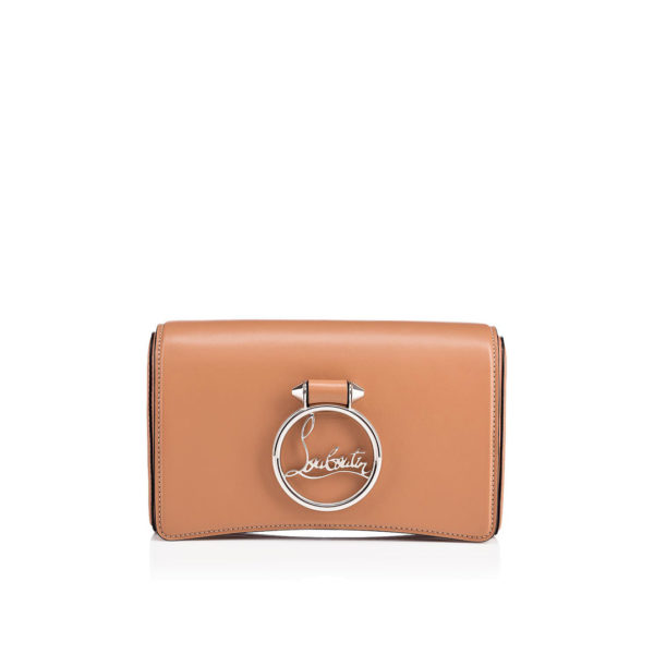 Christian Louboutin Rubylou Clutch nude