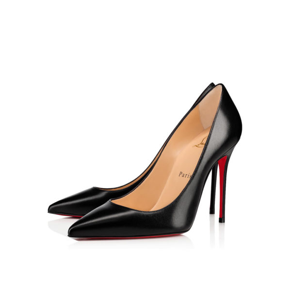 Christian Louboutin Décolleté 554 Nappa Shiny black pumps
