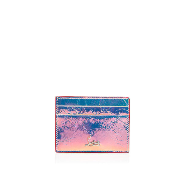 Christian Louboutin Kios Card Holder silver