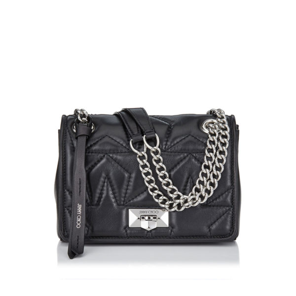 Jimmy Choo Helia black shoulder bag