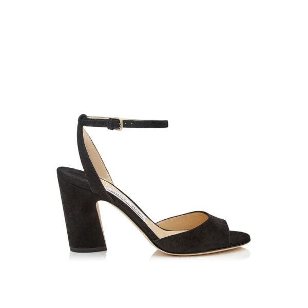 Jimmy Choo Miranda 85 black sandals
