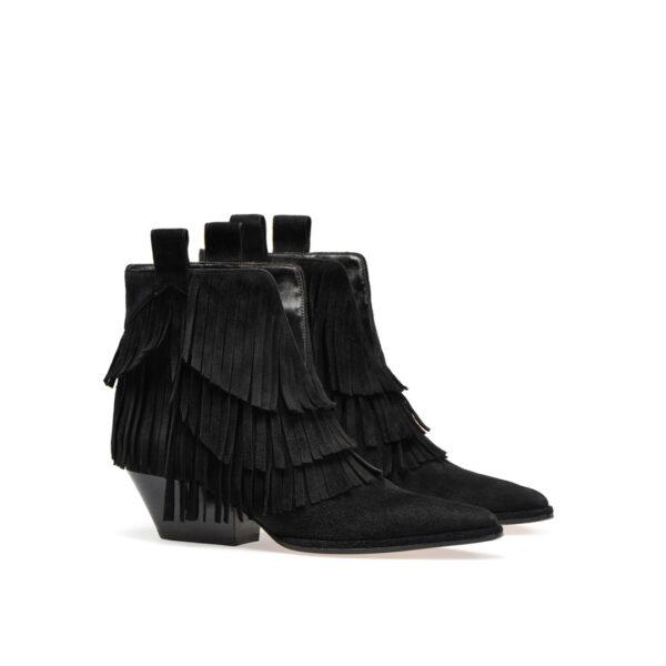 Sergio Rossi sr Carla black suede boots