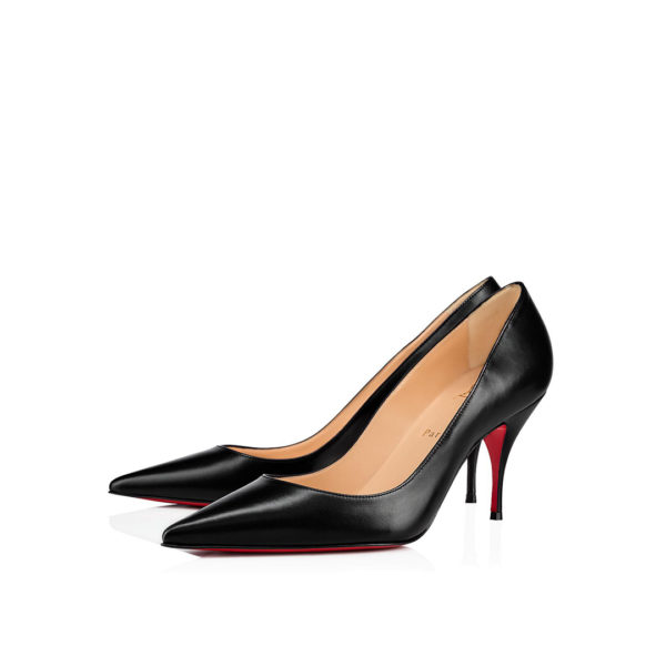Christian Louboutin Clare 80mm black nappa pumps