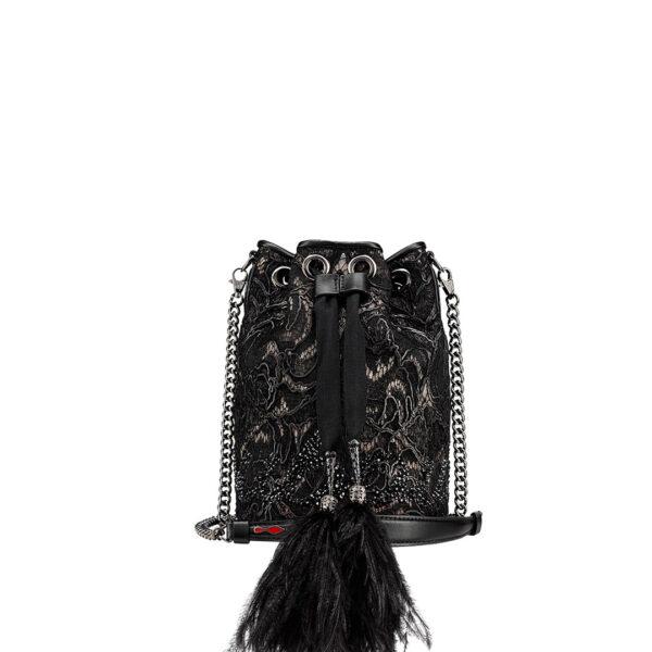 Christian Louboutin Marie Jane Bucket Bag black