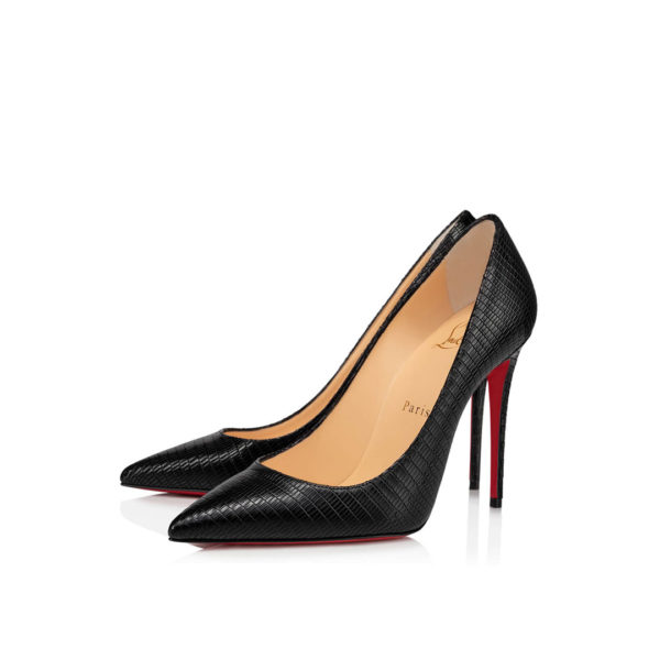 Christian Louboutin Kate 100mm iguane pumps