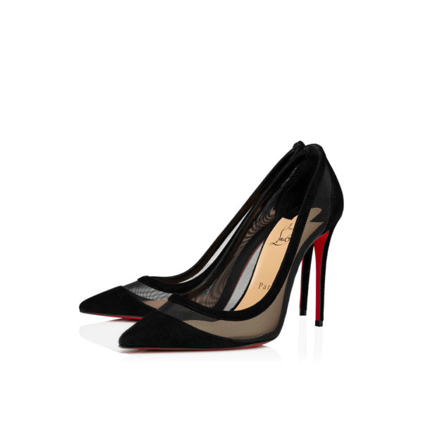 Christian Louboutin Galativi 100mm black pumps